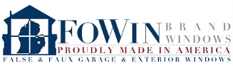 FoWin Brand Windows: False & Faux Garage & Exterior Windows